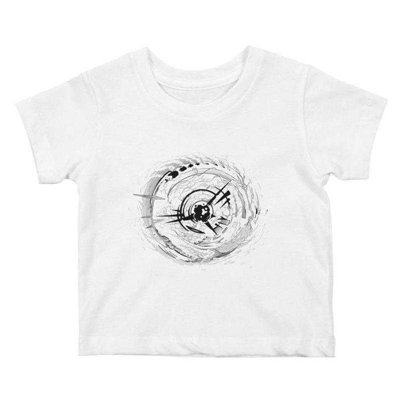 Impact Kids Baby T-Shirt by evans's Artist Shop