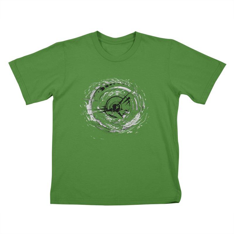 Impact Kids T-shirt by evans's Artist Shop