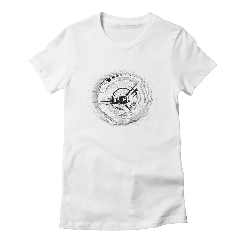 Impact Women's Fitted T-Shirt by evans's Artist Shop