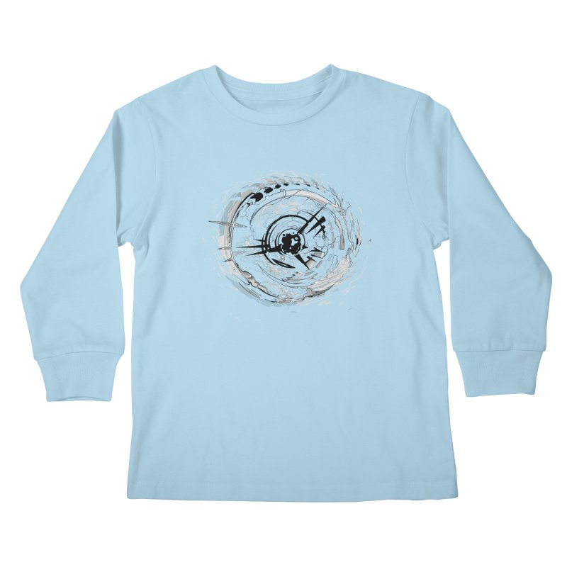 Impact Kids Longsleeve T-Shirt by evans's Artist Shop
