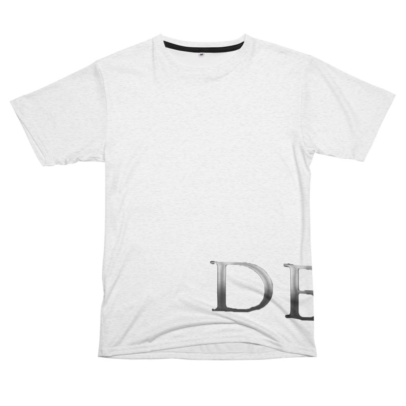 Demu Men's French Terry T-Shirt Cut & Sew by Everlasting Victory's Shop
