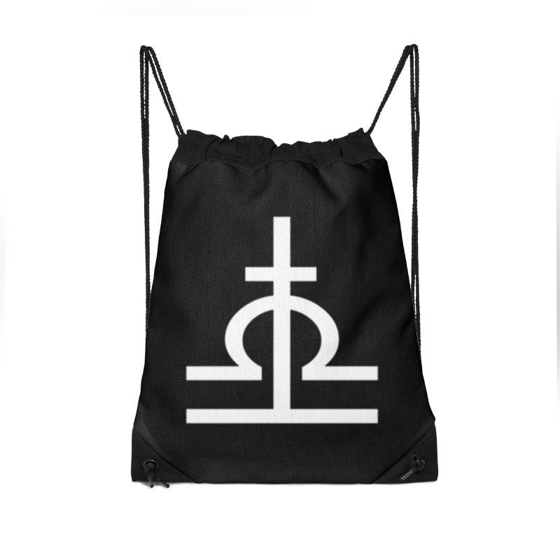 Light/Dark Accessories Drawstring Bag Bag by Everlasting Victory's Shop