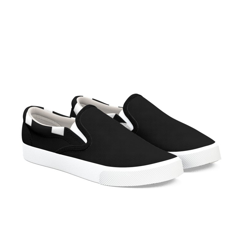 Light/Dark Men's Slip-On Shoes by Everlasting Victory's Shop