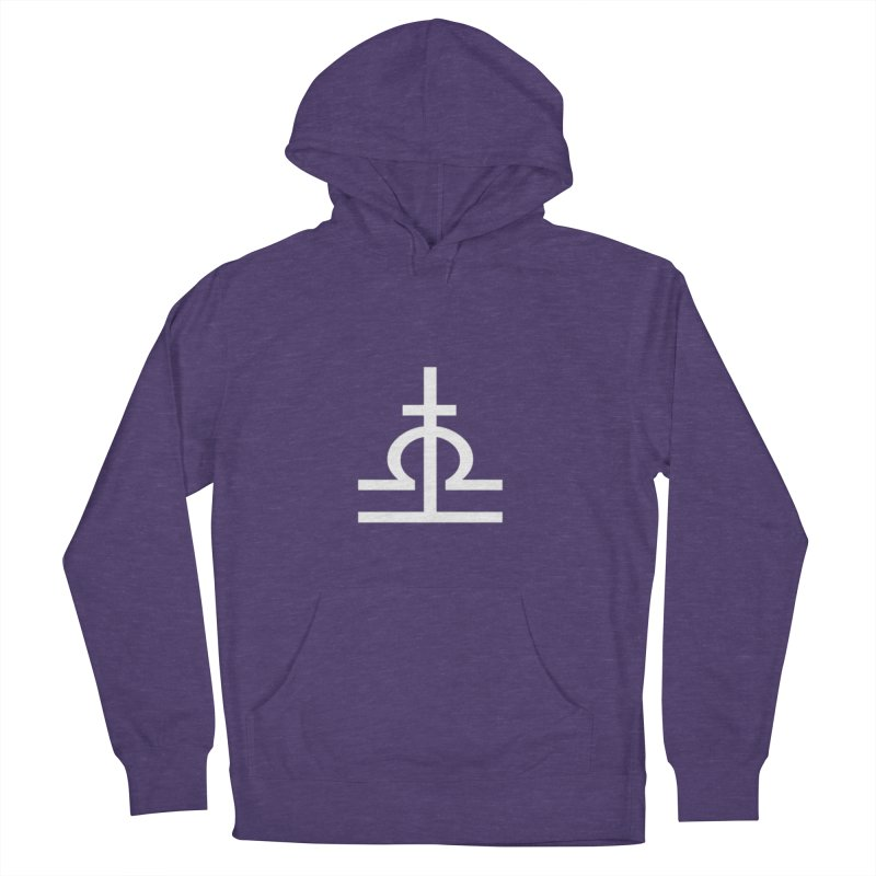 Light/Dark Men's French Terry Pullover Hoody by Everlasting Victory's Shop