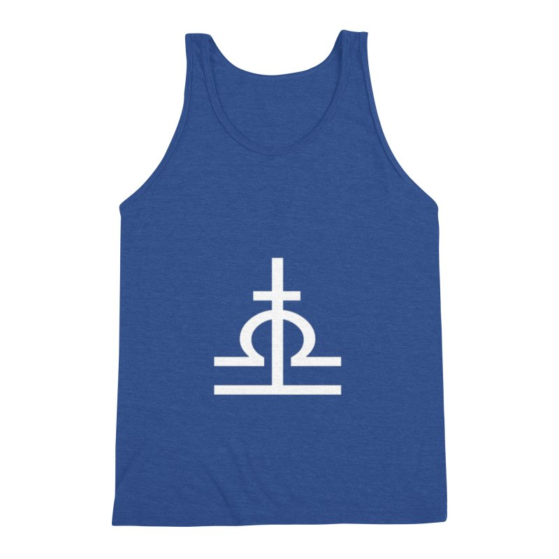 Light/Dark Men's Triblend Tank by Everlasting Victory's Shop