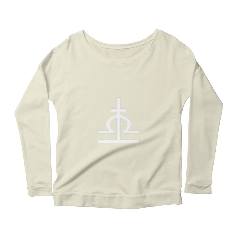 Light/Dark Women's Scoop Neck Longsleeve T-Shirt by Everlasting Victory's Shop