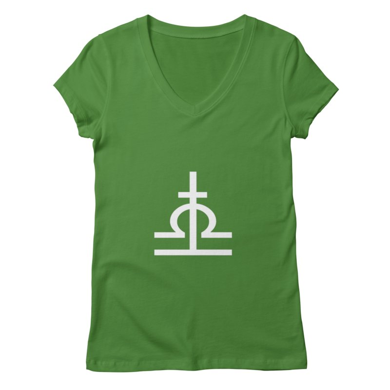 Light/Dark Women's Regular V-Neck by Everlasting Victory's Shop