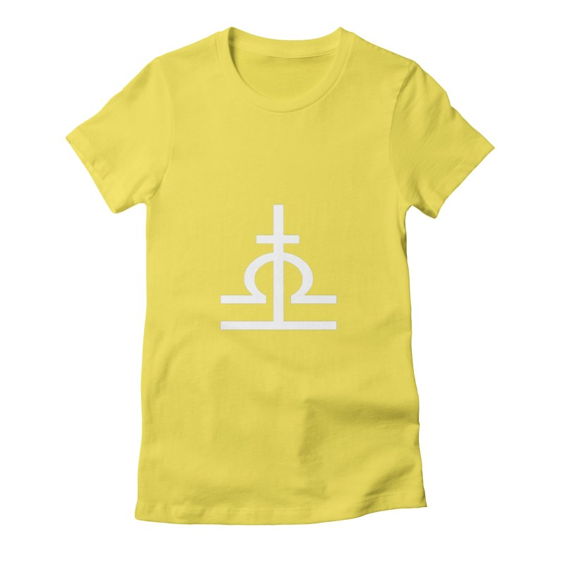 Light/Dark Women's Fitted T-Shirt by Everlasting Victory's Shop