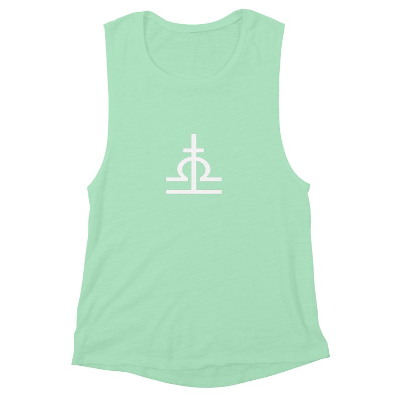 Light/Dark Women's Muscle Tank by Everlasting Victory's Shop