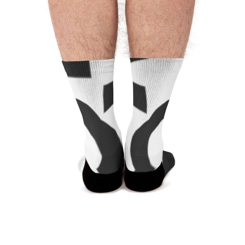 Light/Dark Men's Socks by Everlasting Victory's Shop