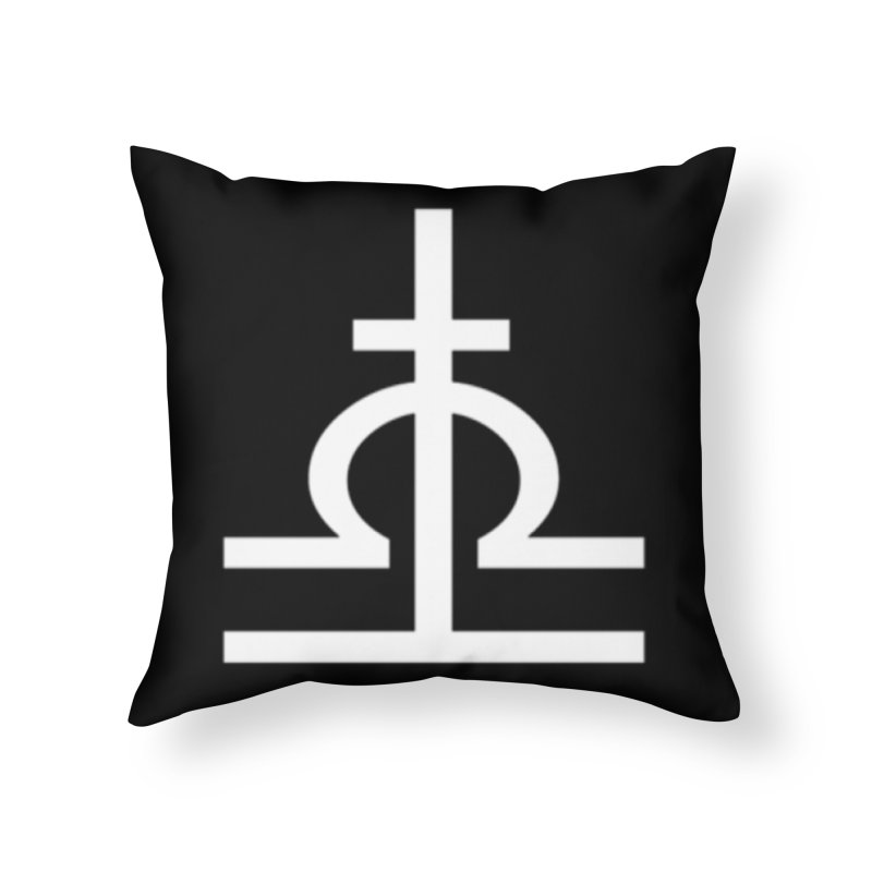 Light/Dark Home Throw Pillow by Everlasting Victory's Shop
