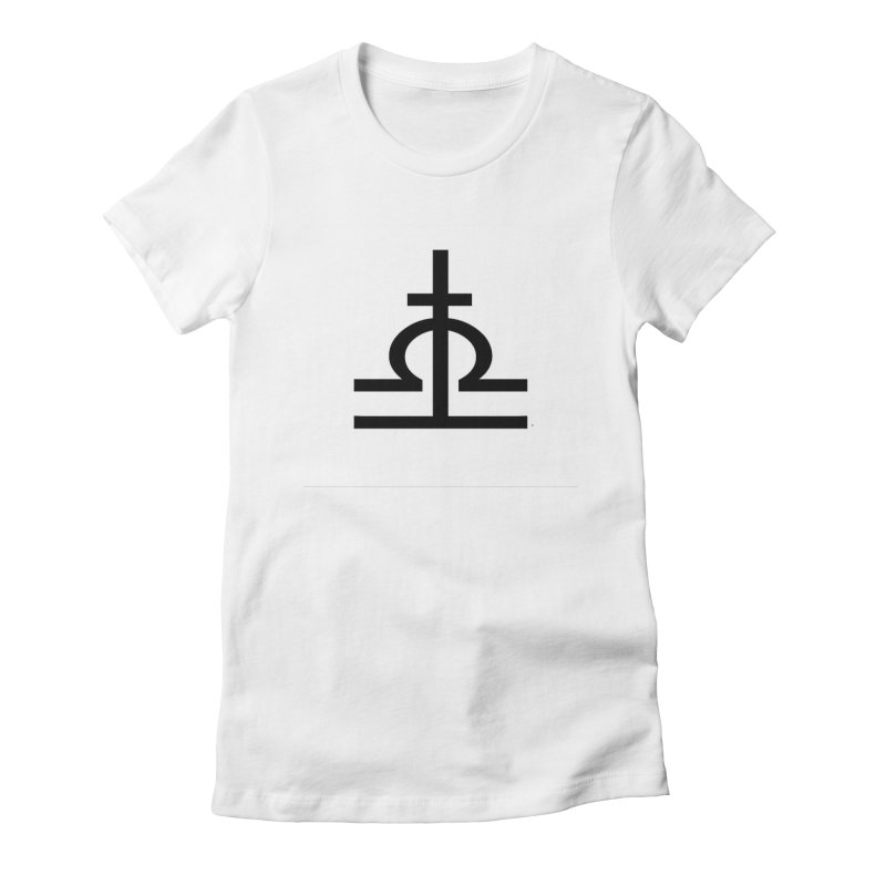 Light/Dark Deluxe Women's Fitted T-Shirt by Everlasting Victory's Shop