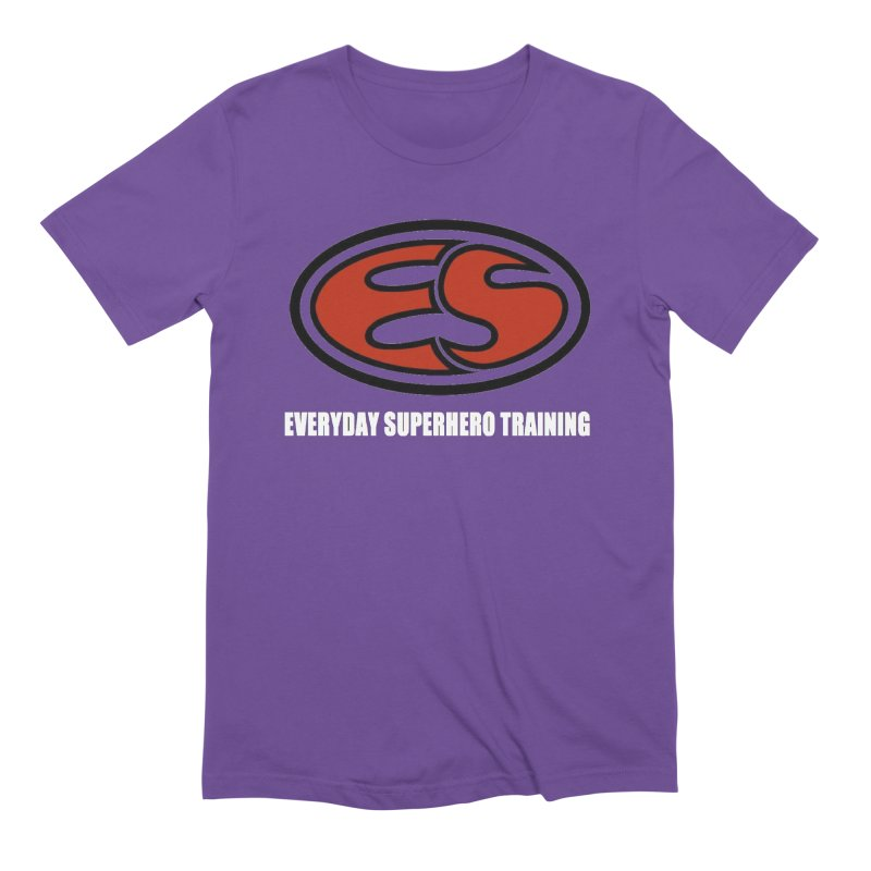 Everyday Superhero Training Men's T-Shirt by Everyday Superhero Training Gear