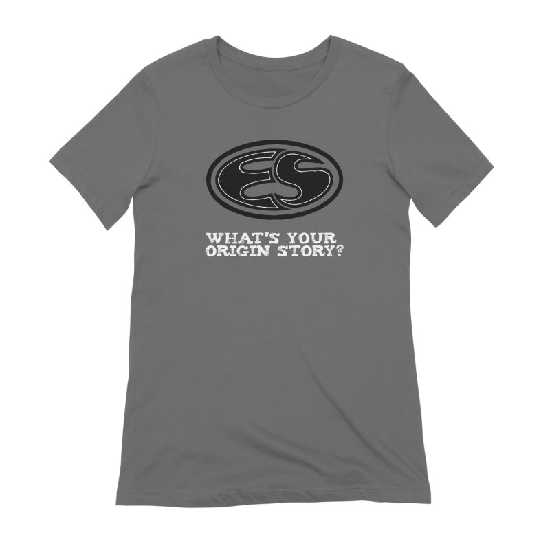 Origin Story Women's Extra Soft T-Shirt by Everyday Superhero Training Gear