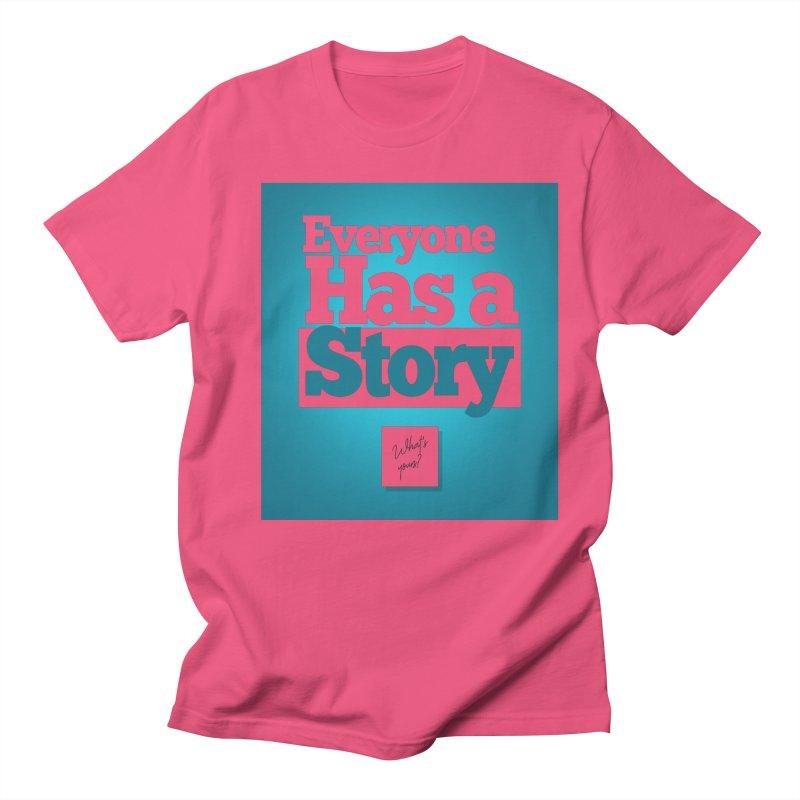 Everyone Has A Story Logo Men's Regular T-Shirt by everyonehasastory's Artist Shop