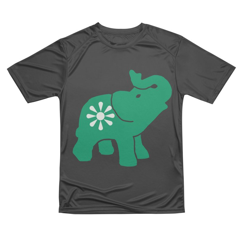 Green Elephant Men's Performance T-Shirt by everyonesautonomous's Artist Shop