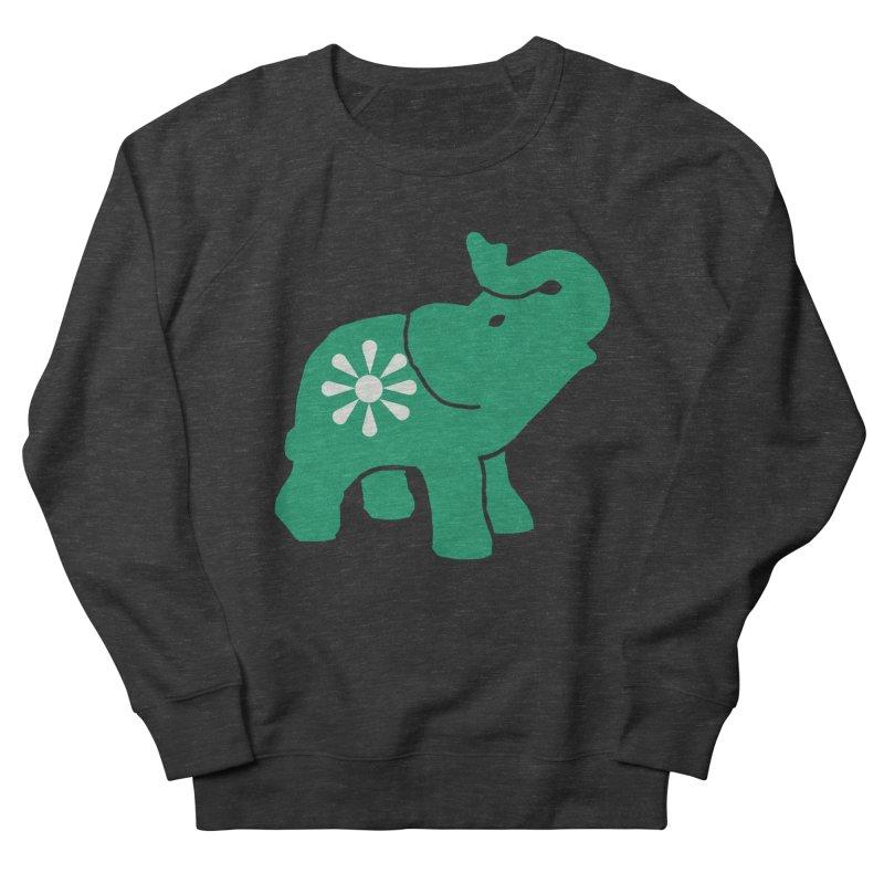 Green Elephant Women's Sweatshirt by Everyone's Autonomous' Artist Shop