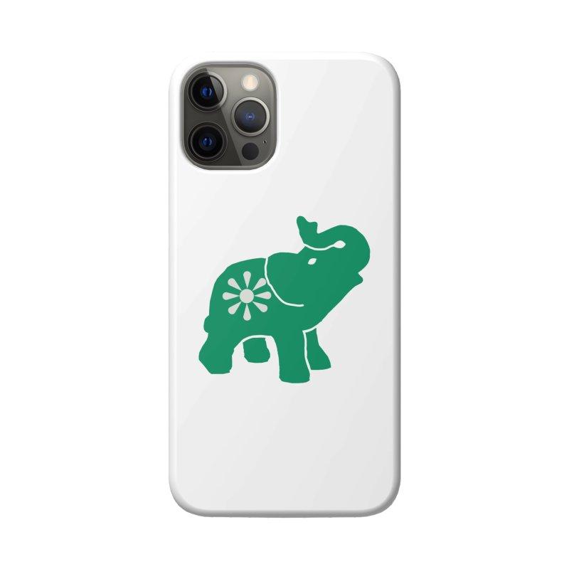 Green Elephant Accessories Phone Case by Everyone's Autonomous' Artist Shop