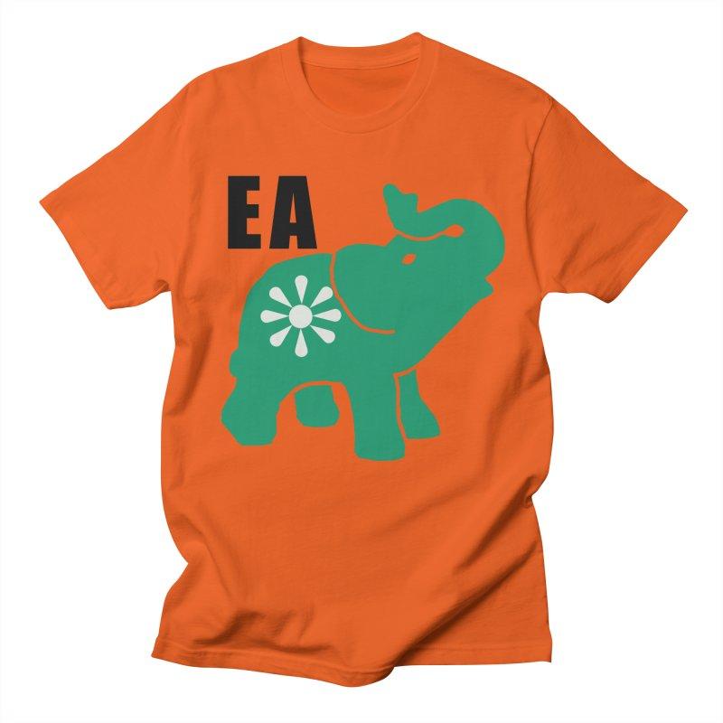 Elephant w EA Men's T-Shirt by Everyone's Autonomous' Artist Shop