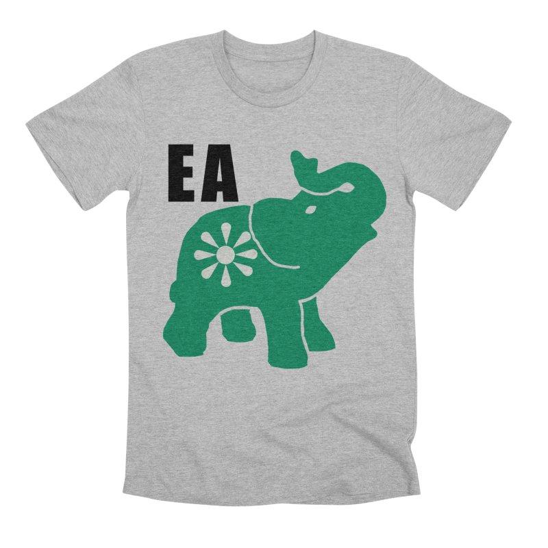 Elephant w EA Men's Premium T-Shirt by everyonesautonomous's Artist Shop
