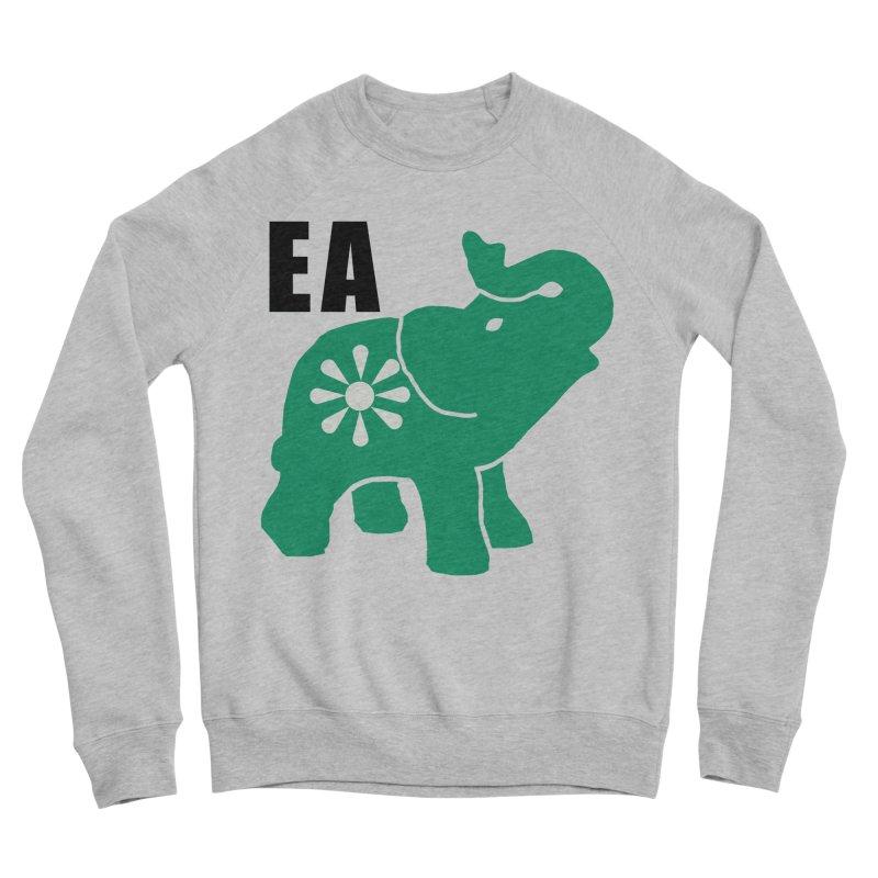 Elephant w EA Men's Sponge Fleece Sweatshirt by everyonesautonomous's Artist Shop