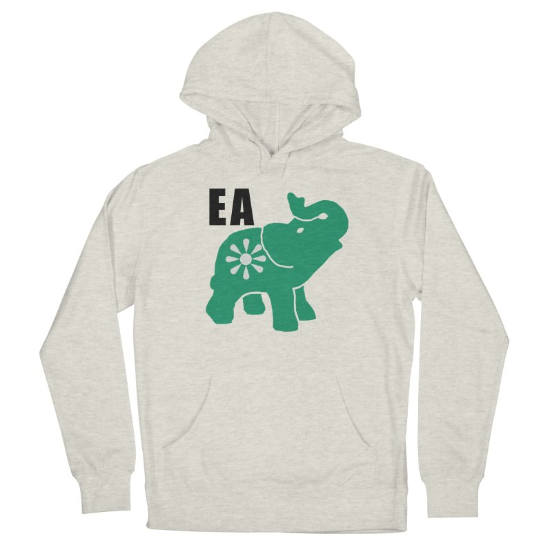 Elephant w EA Men's Pullover Hoody by Everyone's Autonomous' Artist Shop