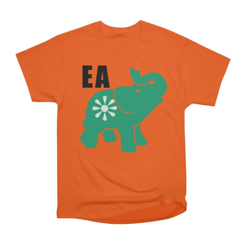 Elephant w EA Women's Heavyweight Unisex T-Shirt by everyonesautonomous's Artist Shop