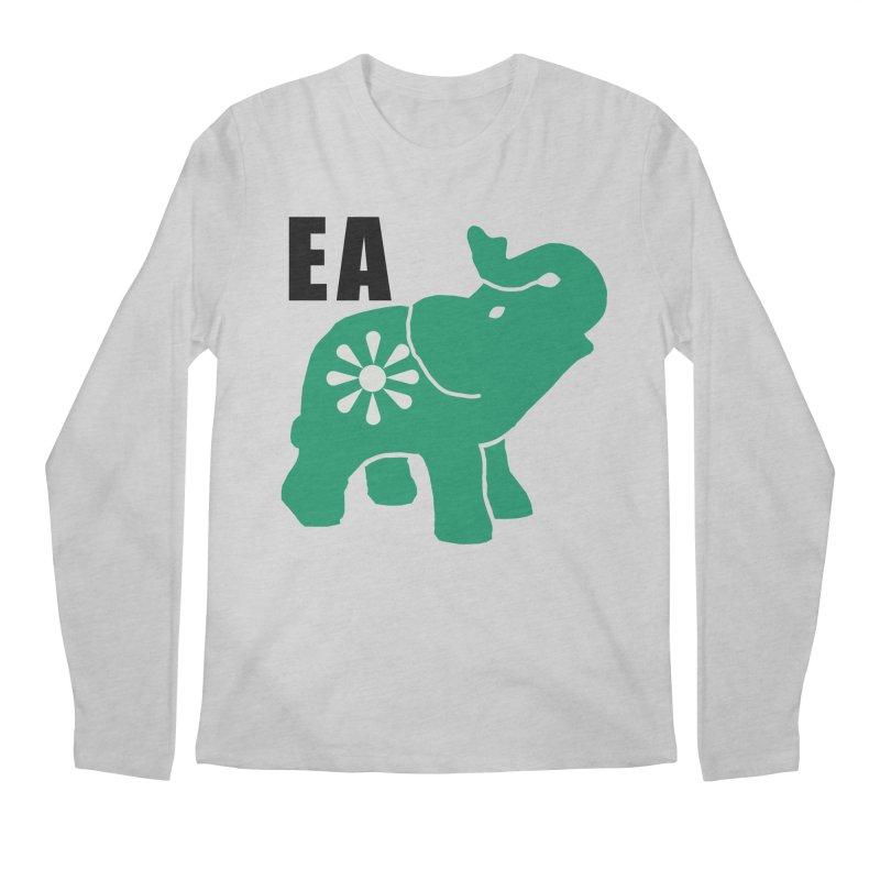 Elephant w EA Men's Longsleeve T-Shirt by Everyone's Autonomous' Artist Shop