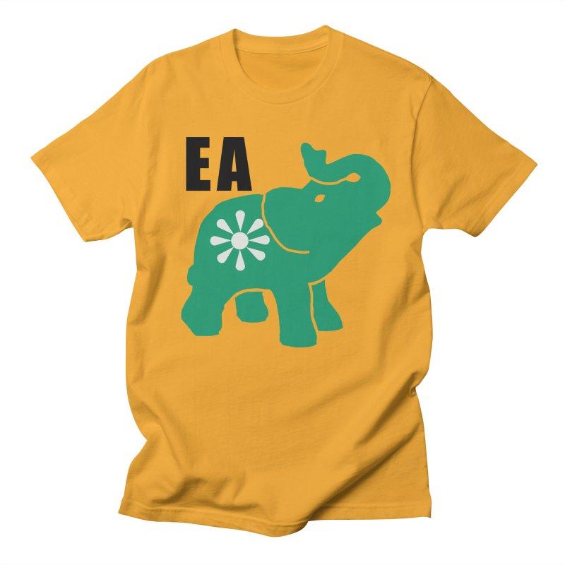 Elephant w EA Men's Regular T-Shirt by everyonesautonomous's Artist Shop