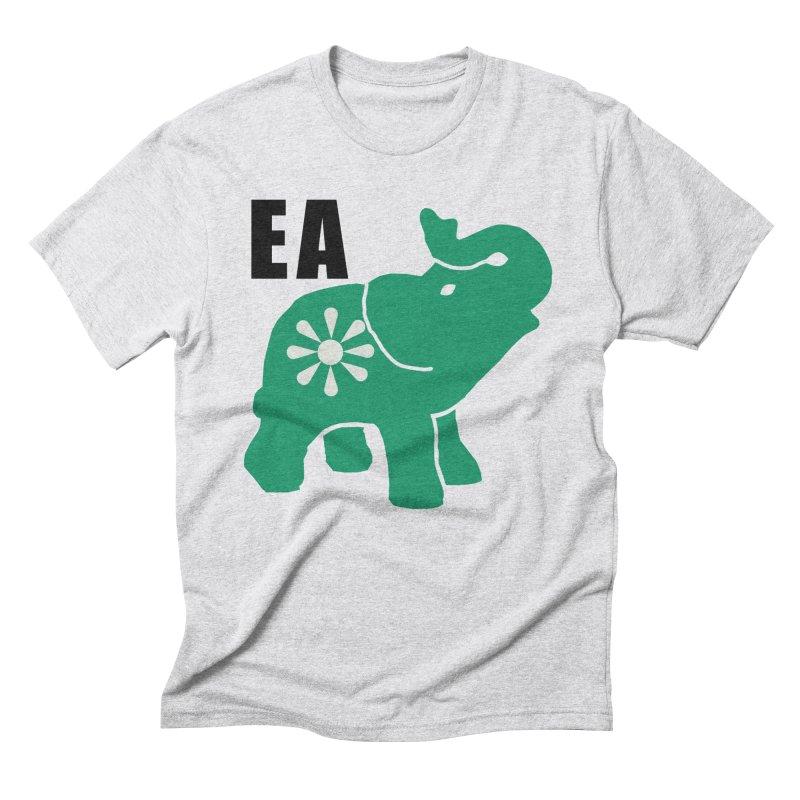 Elephant w EA Men's Triblend T-Shirt by everyonesautonomous's Artist Shop
