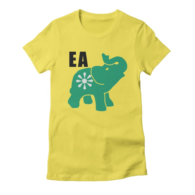 Elephant w EA Women's T-Shirt by Everyone's Autonomous' Artist Shop