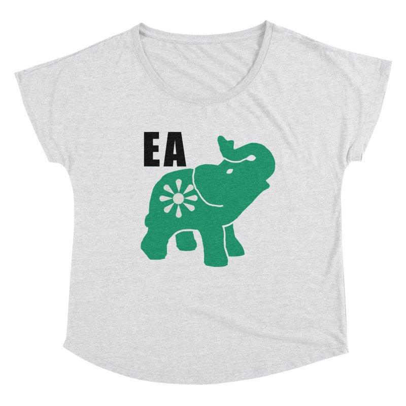 Elephant w EA Women's Scoop Neck by Everyone's Autonomous' Artist Shop