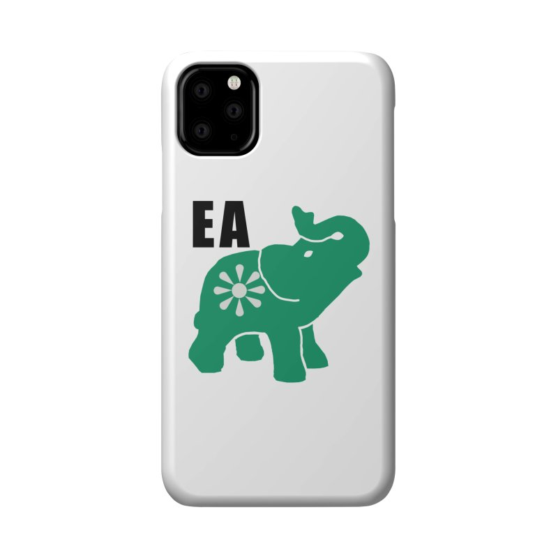Elephant w EA Accessories Phone Case by everyonesautonomous's Artist Shop