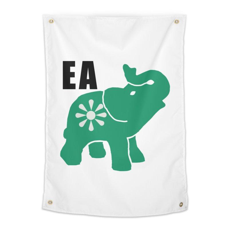 Elephant w EA Home Tapestry by Everyone's Autonomous' Artist Shop