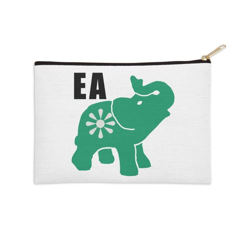 Elephant w EA Accessories Zip Pouch by everyonesautonomous's Artist Shop
