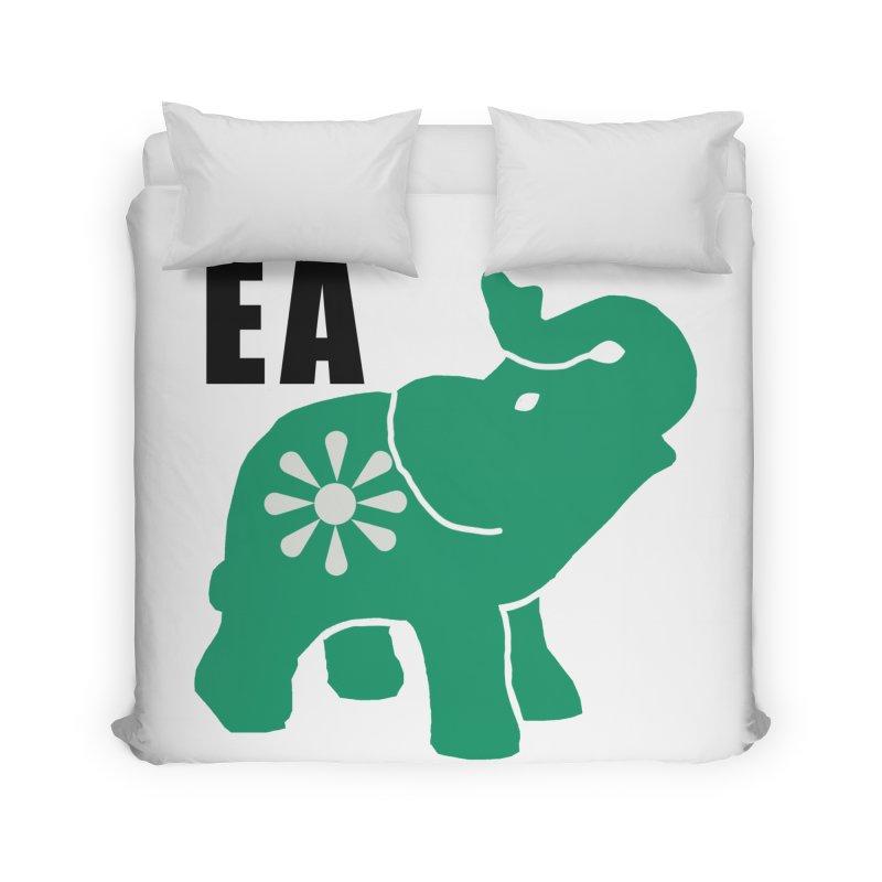 Elephant w EA Home Duvet by everyonesautonomous's Artist Shop