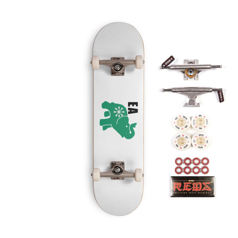 Elephant w EA Accessories Complete - Pro Skateboard by everyonesautonomous's Artist Shop