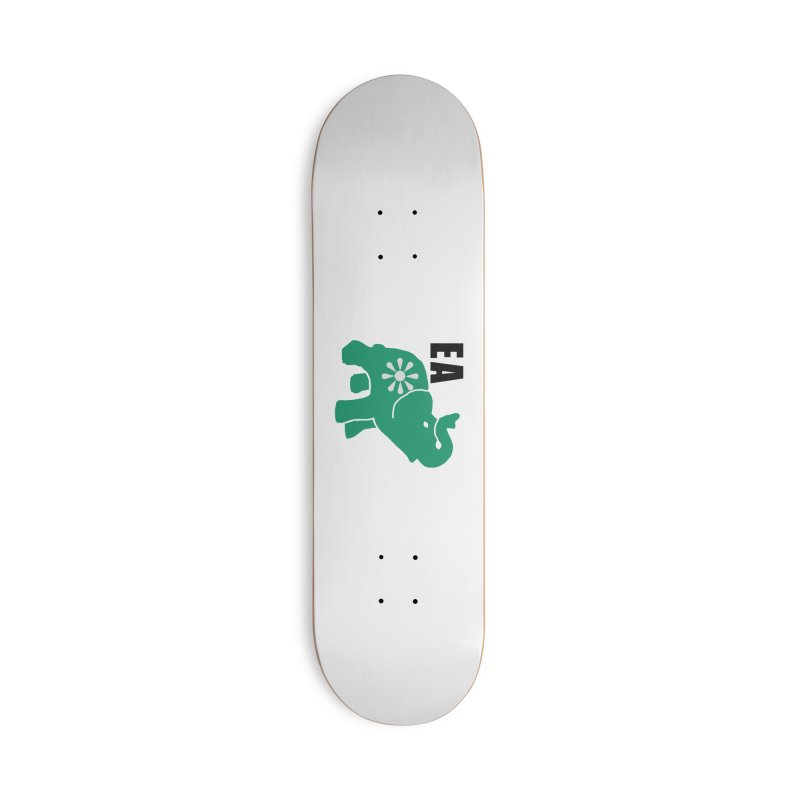 Elephant w EA Accessories Deck Only Skateboard by everyonesautonomous's Artist Shop
