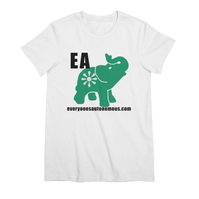 Elephant EA www Women's Premium T-Shirt by everyonesautonomous's Artist Shop