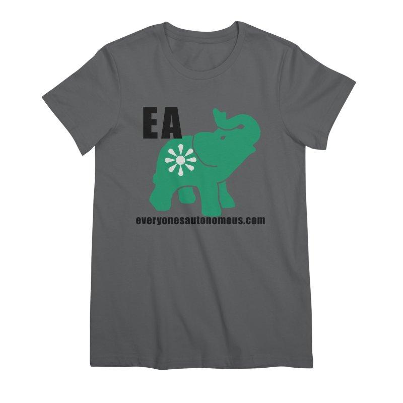 Elephant EA www Women's T-Shirt by Everyone's Autonomous' Artist Shop
