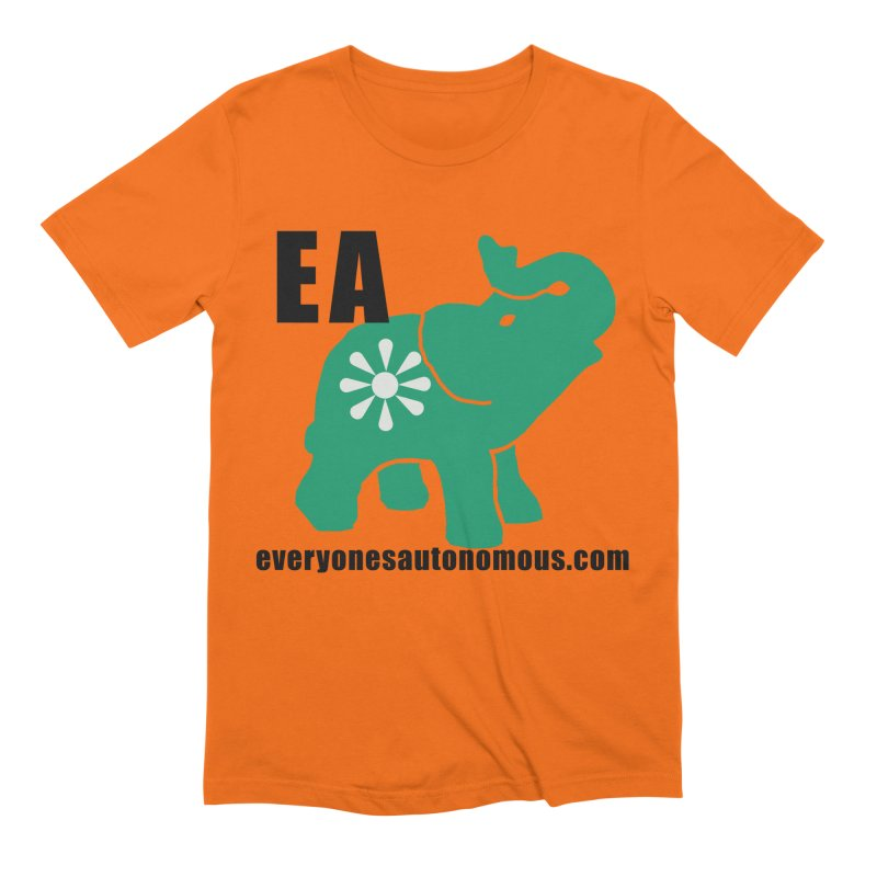 Elephant EA www Men's Extra Soft T-Shirt by everyonesautonomous's Artist Shop