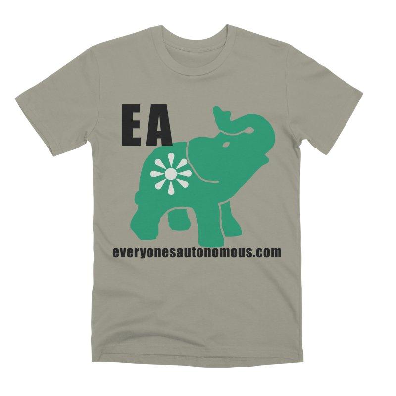 Elephant EA www Men's Premium T-Shirt by everyonesautonomous's Artist Shop