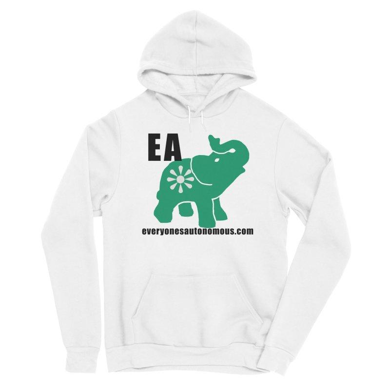Elephant EA www Men's Pullover Hoody by Everyone's Autonomous' Artist Shop