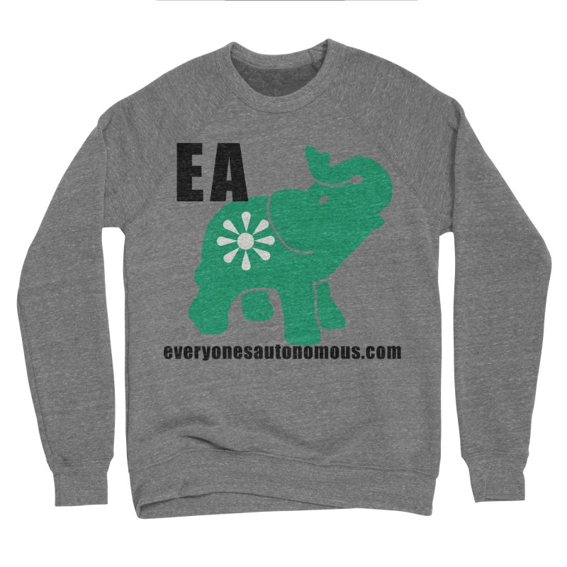 Elephant EA www Men's Sponge Fleece Sweatshirt by everyonesautonomous's Artist Shop
