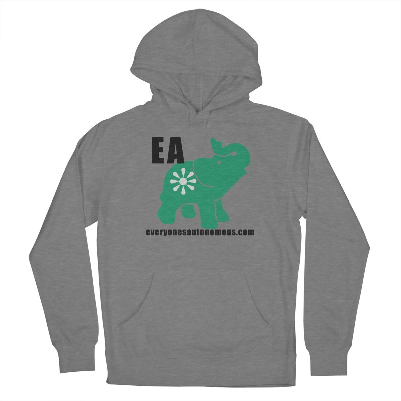 Elephant EA www Women's French Terry Pullover Hoody by everyonesautonomous's Artist Shop