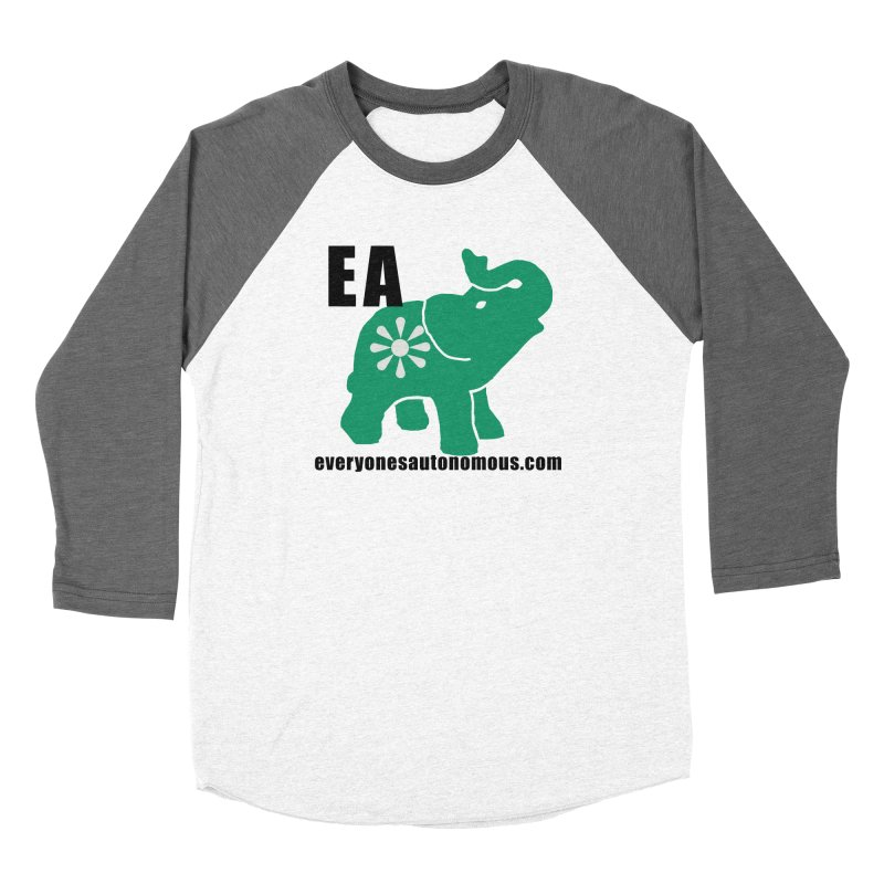 Elephant EA www Women's Longsleeve T-Shirt by Everyone's Autonomous' Artist Shop