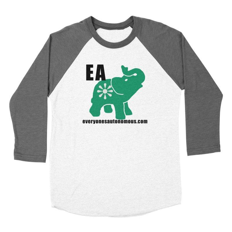 Elephant EA www Men's Baseball Triblend Longsleeve T-Shirt by everyonesautonomous's Artist Shop