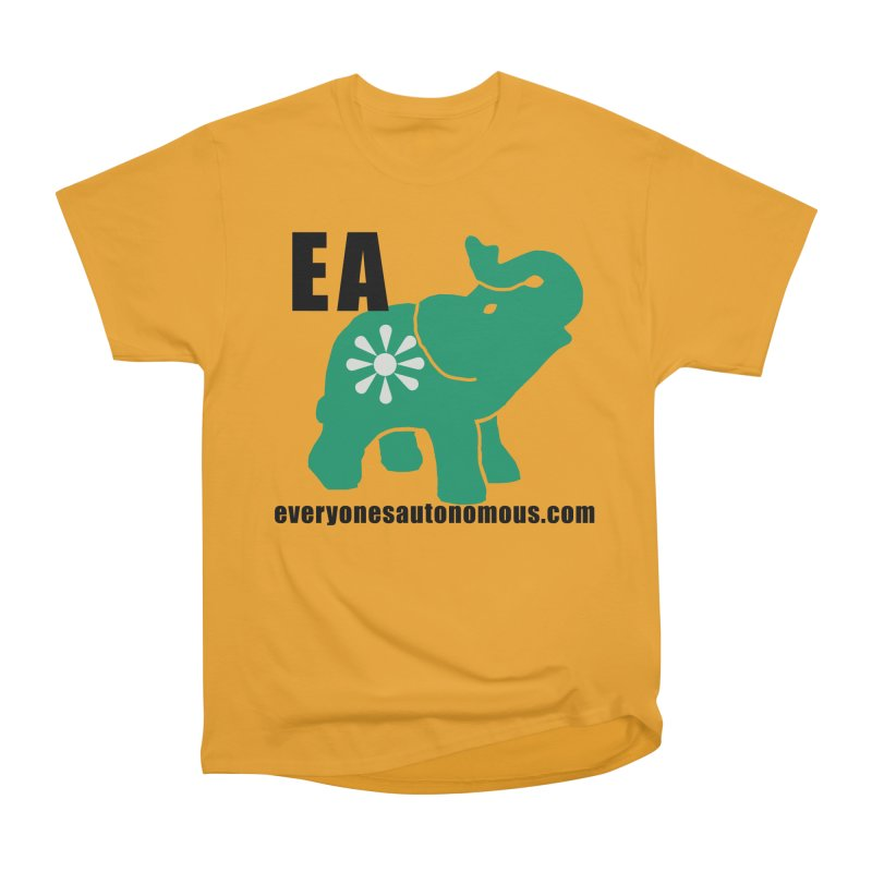 Elephant EA www Women's Heavyweight Unisex T-Shirt by everyonesautonomous's Artist Shop