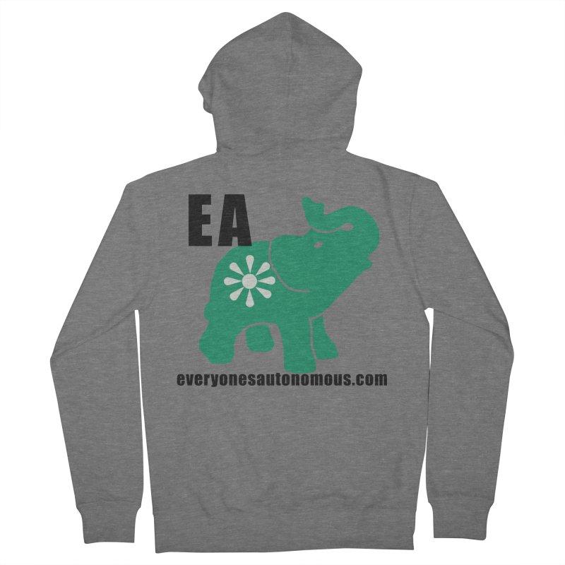 Elephant EA www Women's Zip-Up Hoody by Everyone's Autonomous' Artist Shop