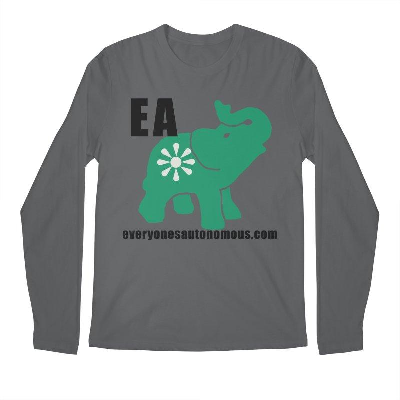 Elephant EA www Men's Longsleeve T-Shirt by Everyone's Autonomous' Artist Shop